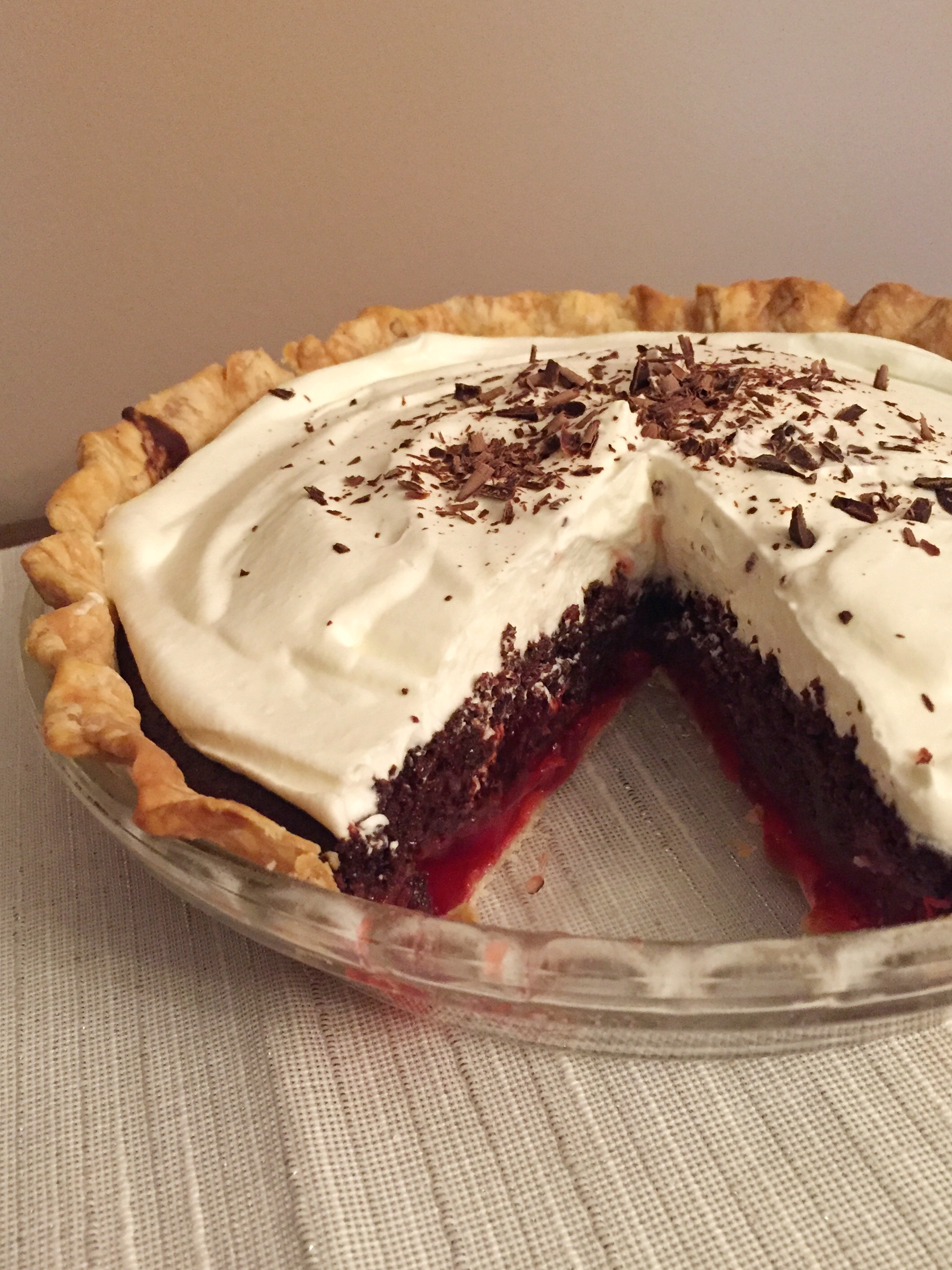 Paul's Birthday Cake: Black Forest Pake (Pie-Cake) – Luscious and ...