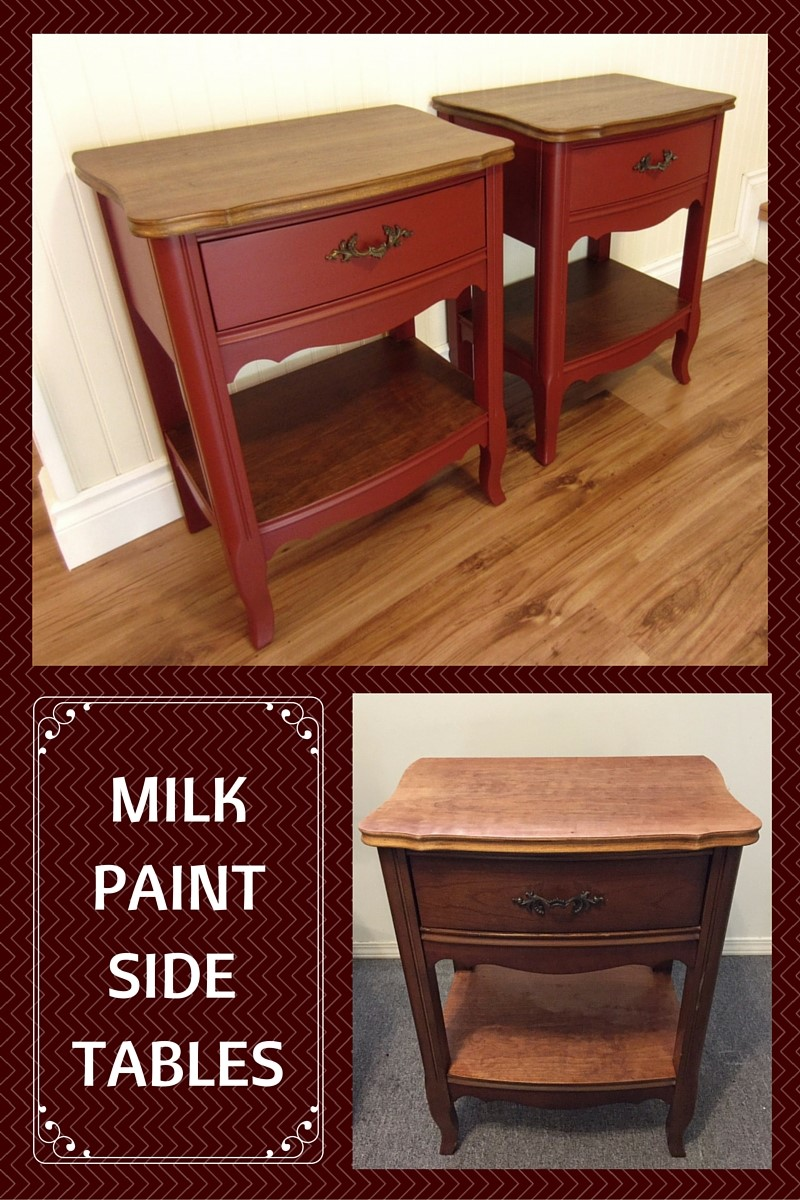 MILKPAINTSIDE TABLES